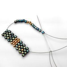 FAST Peyote Method  ~ Seed Bead Tutorials