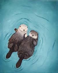 cute otter - Google Search
