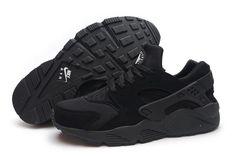 separation shoes cb156 02dbd Nike Air Huarache Premium Triple Black Blackout Shoes Men Women Nike Air  Huarache - Nike official website Up to discount
