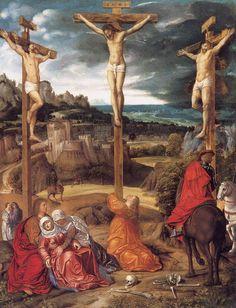 Christ on the Cross, Girolamo Savoldo (Girolamo da Brescia), ca. 1515