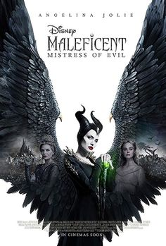 Michelle Pfeiffer, Angelina Jolie, and Elle Fanning in Maleficent: Mistress of Evil Movies 2019, New Movies, Good Movies, Movies Evil, Popular Movies, Walt Disney Pictures, Disney Villains, Disney Movies, Disney Pixar