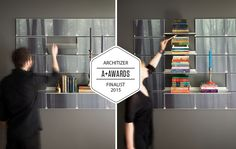Riveli Shelving is an Architizer A+ Award Finalist. We could use your vote! http://awards.architizer.com/public/voting/?cid=76