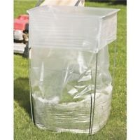 Bag Buddy Bag Holder - Versatile Metal Support Stand for 39 - 45 Gallon Plastic and Paper Bags - Use For Leaves, Yard Work, Laundry, Trash and More - *** Read more at the image link. (This is an affiliate link) Garbage Bag Holder, Plastic Bag Holders, Rent A Dumpster, Lawn And Garden, Home And Garden, Diy Interior Doors, Trash Bag, Recycling Bins, Sacks