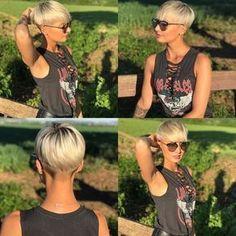 Kurzes Haar, Sexy Aussehen -