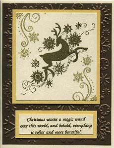 Stamp of the Month November 2011 - Great Impressions Rubber Stamps Diy Cards Stamps, December 25, Deer, Magic, Frame, Christmas, Picture Frame, Xmas, Frames