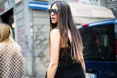 #StreetStyle en Milan Fashion Week, septiembre de 2014 © Josefina Andrés