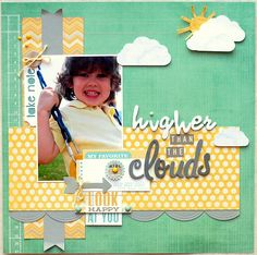Layout: Higher than the Clouds ***Scraptastic Club***