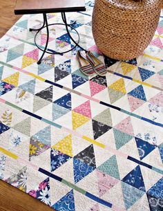 Kilim by Sharon Holland featuring Sketchbook fabrics and Pure Elements from Art Gallery Fabrics