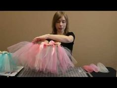 Its a How-Tutu! Learn how to make an easy tutu skirt without sewing using 6-inch tulle ribbon fromhttp://www.nashvillewraps.com/tulle/mc-033.html  SUPPLIES: 6 Tulle Ribbon in different colors, Double Face Satin Ribbon, Fabric Scissors, Rotary Cutter, Cutting Mat, Fray Block, Non-slip ruler, additional ribbon if desired  To find out the latest ...