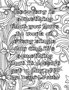 Adult Coloring Book Moving On Quotes Vol 1 Noriko Palombo 9781530064571 Amazon