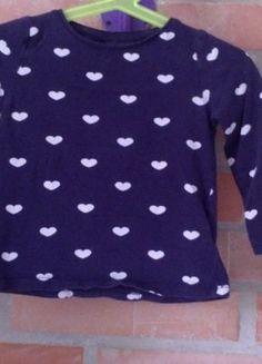 Kupuj mé předměty na #vinted http://www.vinted.cz/deti/tricka-topy-a-bluzky/16753912-tmave-modre-detske-tricko-se-srdicky-hm