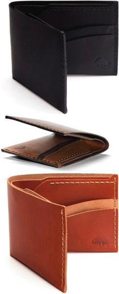 Why bother with a wallet that will only last a few months when you could purchase a beautifully made, high quality leather wallet that will last years? | Made on Hatch.co by independent makers & designers