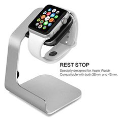 Specifically designed for Apple Watch for both 38 mm and 42 mm...