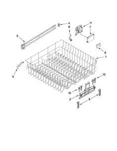 Lg Dishwasher Ldf7551st Parts List Parts Pinterest