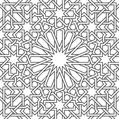 moroccan pattern its a vector used in architectural design for backgrounds textile texture for 3d objects and more