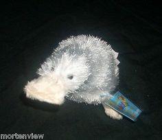 New Plush Webkinz Googles White Platypus Ganz SEALED Code Plush Animal | eBay