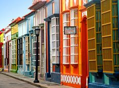 Jeff would love to go to Venezuela Santa Lucia, Places To Travel, Places To See, Places Around The World, Around The Worlds, Mykonos, Les Continents, Colourful Buildings, Colorful Houses