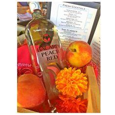 Yummy! Think Peach  #peachpit #peachmartini #bacardi #bacardipeach #bacardipeachred #happyhour #happeningnow #patiobar #bluemartini #refreshing #delicious #halfprice #martinis #cocktails @bluemartiniftl