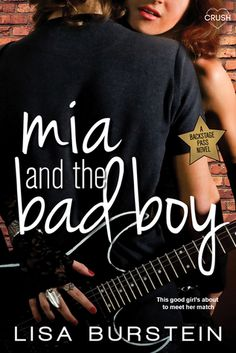 Mia and the Bad Boy by Lisa Burstein Overall, I did like the book despite my problems with specific aspects. The predictability took away a lot of the fun, but the writing was really good. There is promise for Lisa Burstein.