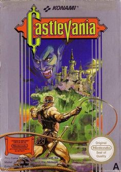 Castlevania box nintendo 8bit
