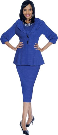 7462 TERRAMINA SKIRT SUIT WITH CAMISOLE NEW SPRING 2015 100% POLYESTER #SkirtSuit