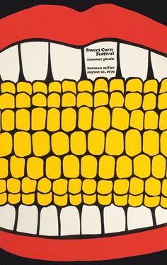 picnic poster for Herman Miller