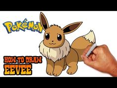 How to Draw Eevee (Pokemon)- Step by Step - YouTube