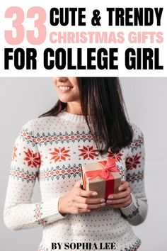 Looking for Christmas gifts for college girl 2021? Check out these gift ideas that college girls are asking for this year. Christmas Gifts To Make, Christmas Gifts For Coworkers, Gifts For Teens, Gifts For Her, Girlfriend Birthday, College Girls, Boyfriend Gifts, Christmas Sweaters, College Students