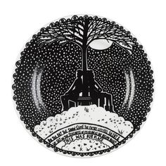 Set of four plates from the Rob Ryan Collection from Wild and Wolf. – Bloomsbury Store