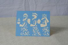 Christmas Card, Three Wise Men, Handmade