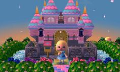Animal Crossing: New Leaf A wonderfully cute Sleeping Beauty inspired town. Dream Address: Amalthea - 4500-3516-5232