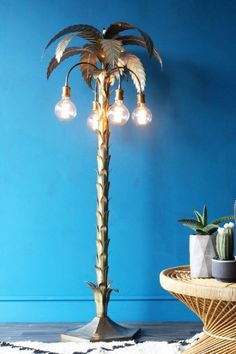 Palm Tree Floor Light - Floor Lights - Lighting