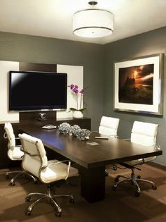 This is the perfect size and style Conference Room for the office. Definitely in the plans for 2017.