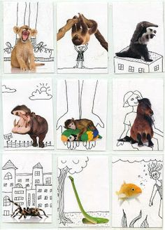 this is a fave with kids (via Art Projects for Kids)