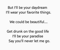 Roses by Chainsmokers.  Love the lyrics and the song.  A new fave.