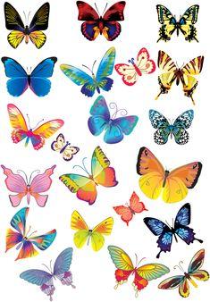 Stickers papillons rose et violet stickers animaux de la for t papillons imprimer - Comment faire fuir les oiseaux des cerisiers ...