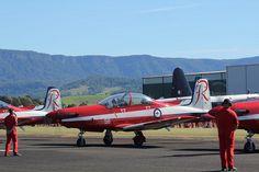"Roulettes aerobatic team - Royal Australian Air Force (RAAF) by neeravbhatt, via Flickr ""Most probably in Illawarra."" KB"