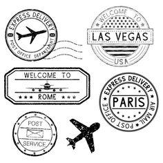 Airport Theme, Travel Sticker, Adventure Symbol, Travel Stamp, Posters Vintage, Foto Transfer, Passport Stamps, Photo Vintage, Usa Tumblr