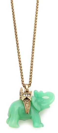 cute elephant #necklace  http://rstyle.me/n/fy39kpdpe