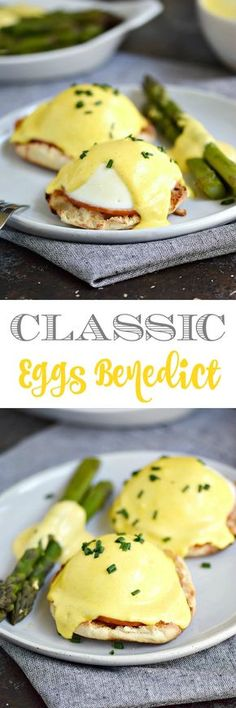 Don't be intimidated by the name, this Classic Eggs Benedict is pretty simple to. - Don't be intimidated by the name, this Classic Eggs Benedict is pretty simple to… – - Breakfast Dishes, Best Breakfast, Breakfast Recipes, Mexican Breakfast, Breakfast Sandwiches, Breakfast Pizza, Breakfast Ideas, Eggs Benedict Recipe, Egg Benedict