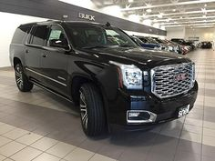 2018 GMC Yukon XL Denali Black, Mankato, MN My Dream Car, Dream Cars, 2018 Gmc Yukon, Mom Mobile, Yukon Denali, Car Goals, Cadillac Escalade, Luxury Suv, My Ride