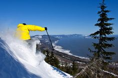Le Massif de Charlevoix is a unique destination in Canada! Plan and book your vacation package in the Charlevoix region. Travel News, Travel List, Charlevoix Quebec, Chute Montmorency, Chateau Frontenac, Le Petit Champlain, Destinations, Voyager Loin, Alpine Skiing