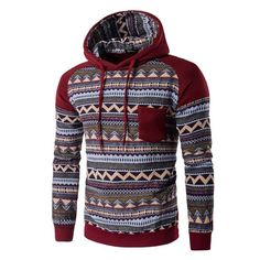 2017 New Spring Autumn Hoodies Men's Chinese Style Male Hooded Hoodie Patchwork Sweatshirt Men Jacket Style, Shirt Style, Black Leggings Outfit, Tribal Leggings, Legging Outfits, Graphic Shirts, Men's Shirts, Mens Clothing Styles, Mens Sweatshirts
