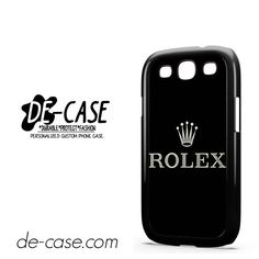 Rolex Logo DEAL-9298 Samsung Phonecase Cover For Samsung Galaxy S3 / S3 Mini