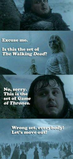 !#GameOfThrones vs #TheWalkingDead