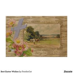 Best Easter Wishes Wood Wall Art