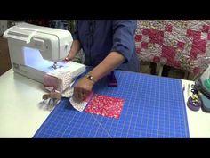 5 O'clock Quilt - YouTube - one yard each of five fabrics.