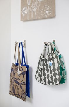 Lotta Jansdotter Work + Shop in NYC #totes