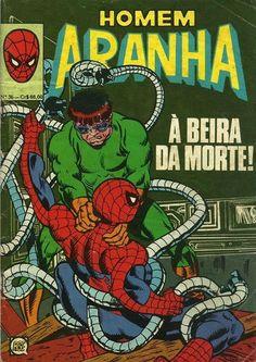 Cover for Homem Aranha (Rio Gráfica Editora, 1979 series) #36