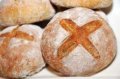 Chlebek Wielkanocny, to małe pulchne bułeczki, które można włożyć do koszyczka Wielkanocnego. Chlebki są pyszne.